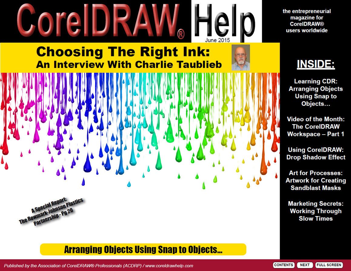 CorelDRAW Help Magazine - June 2015