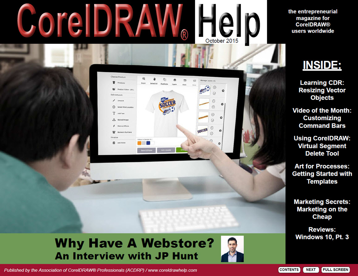 CorelDRAW Help Magazine - October 2015