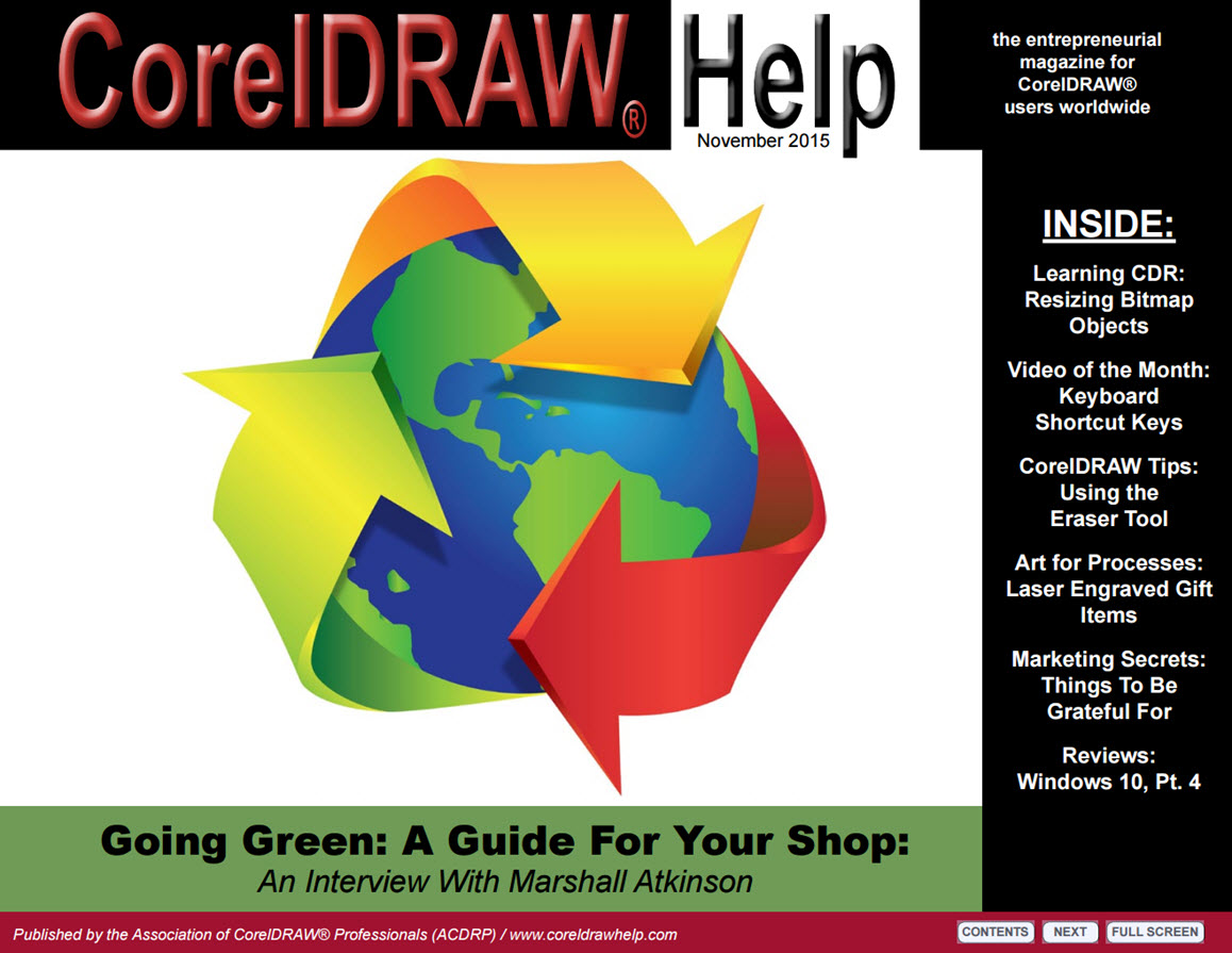 CorelDRAW Help Magazine - November 2015