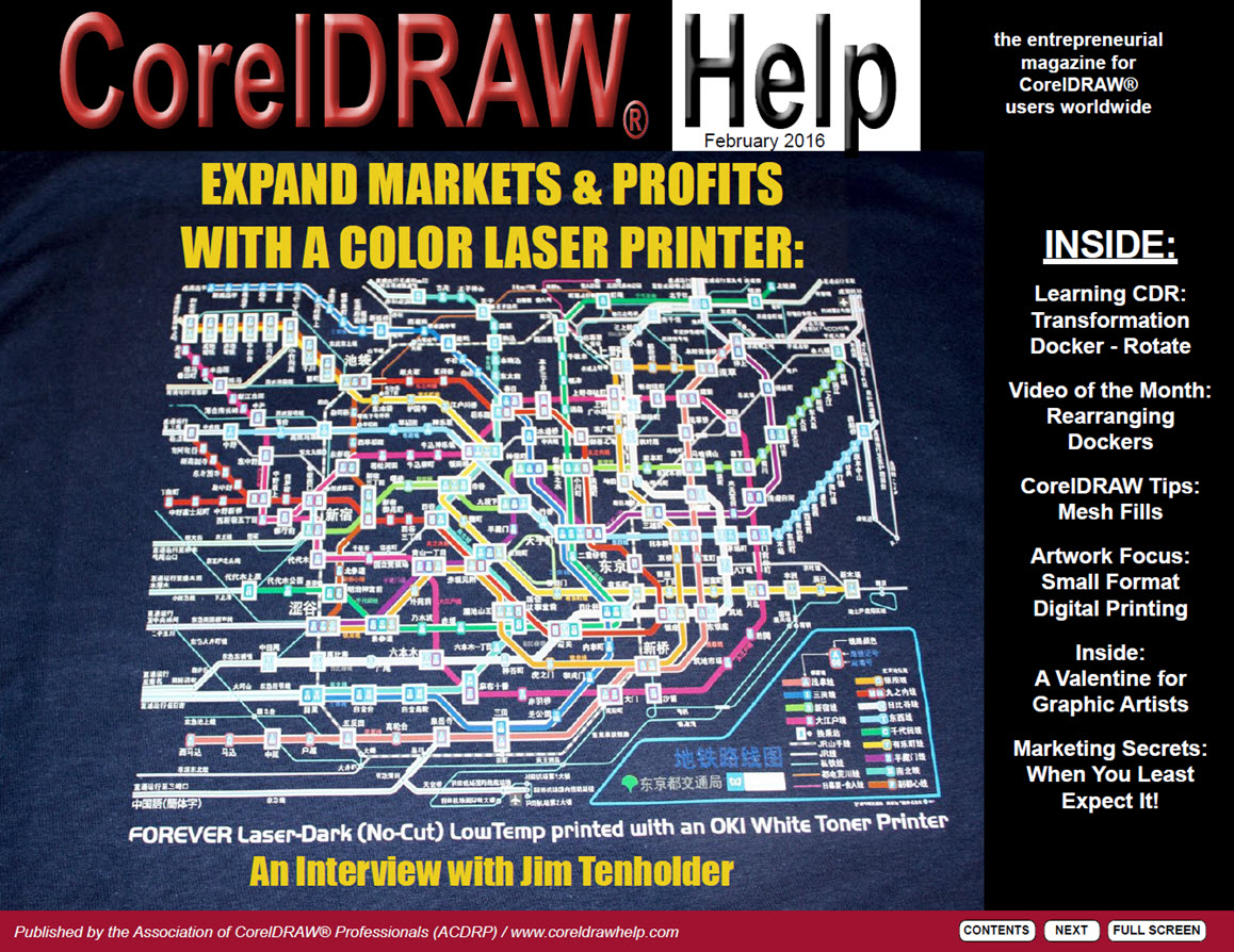 CorelDRAW Help Magazine - February 2016