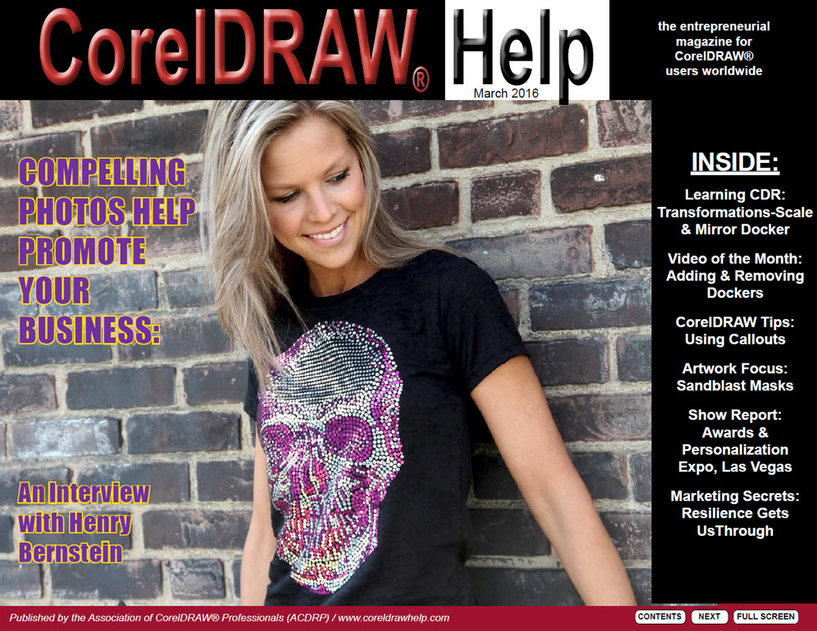 CorelDRAW Help Magazine - March 2016