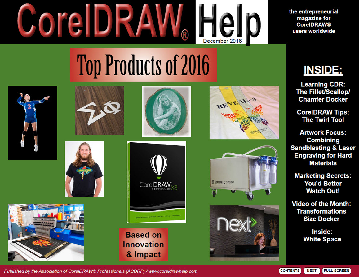 CorelDRAW Help Magazine - December 2016