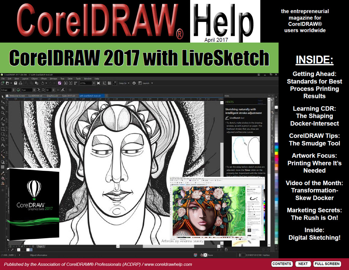 CorelDRAW Help Magazine - April 2017