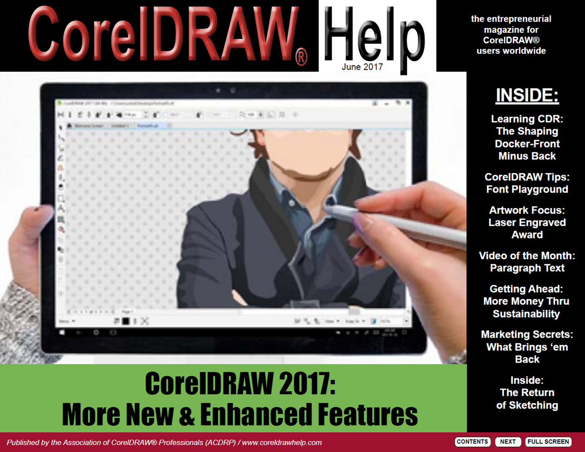 CorelDRAW Help Magazine - June 2017
