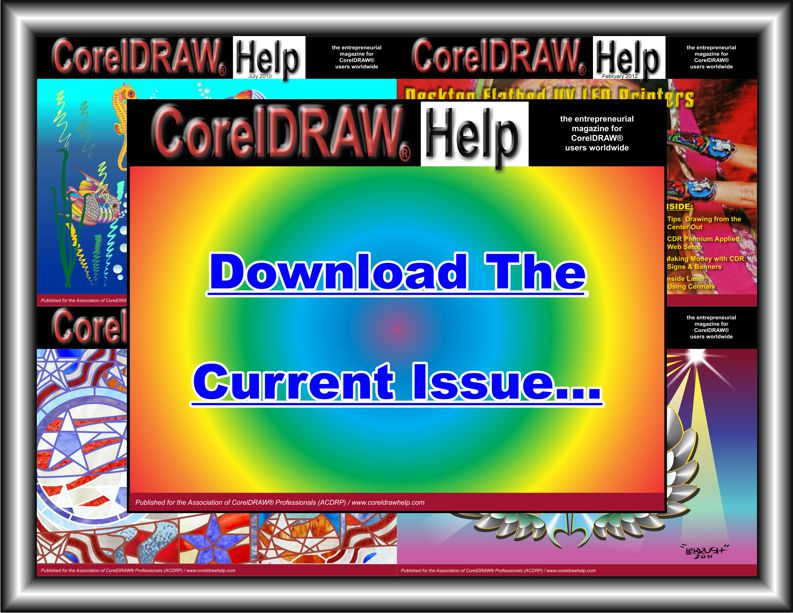 Download the Current CorelDRAW Help Magazine