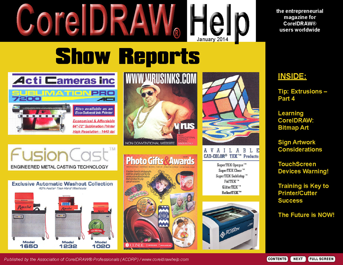 CorelDRAW Help Magazine - January 2014