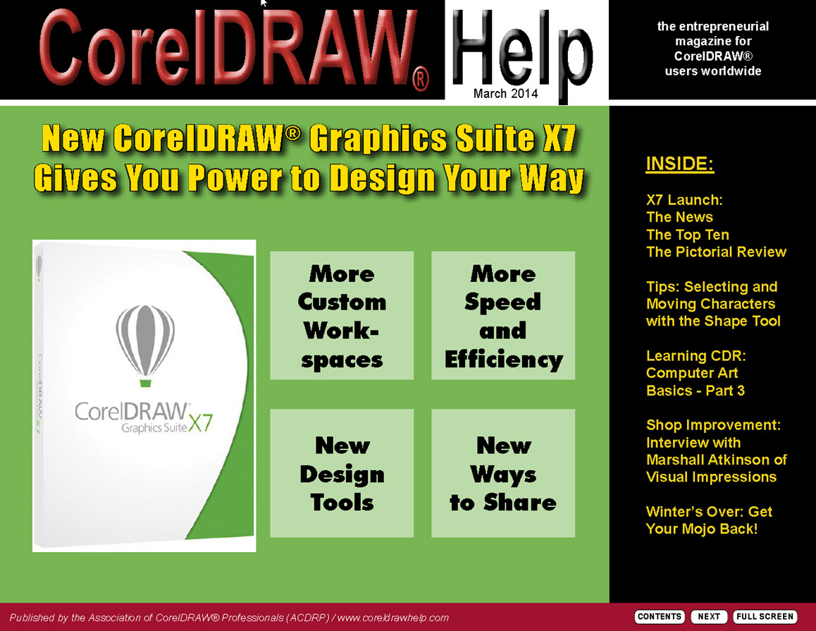 CorelDRAW Help Magazine - March 2014