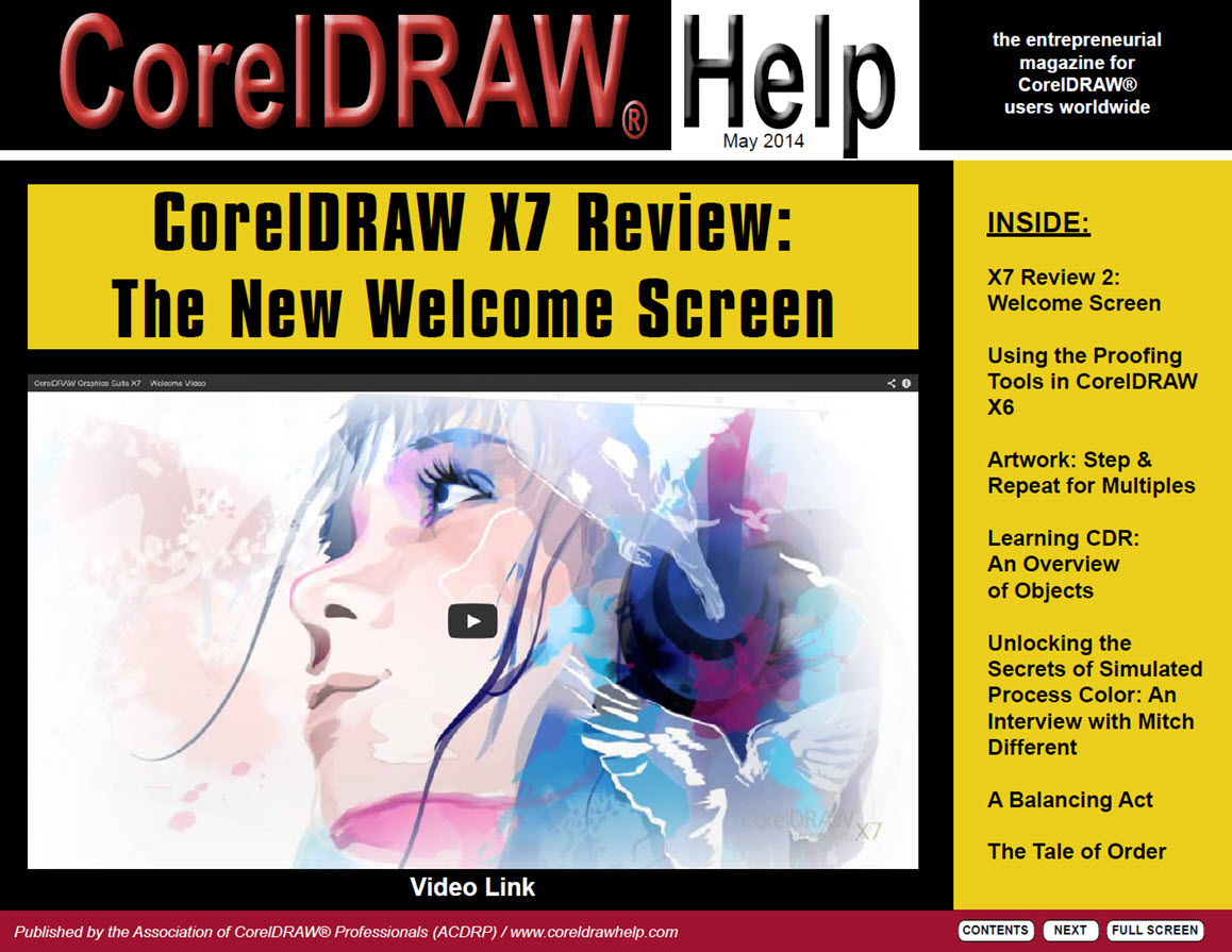 CorelDRAW Help Magazine - May 2014
