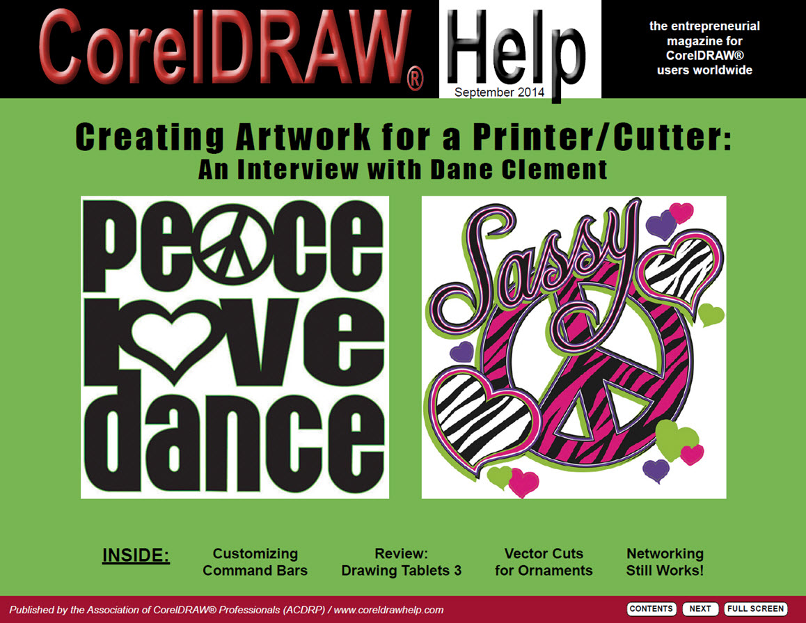CorelDRAW Help Magazine - September 2014