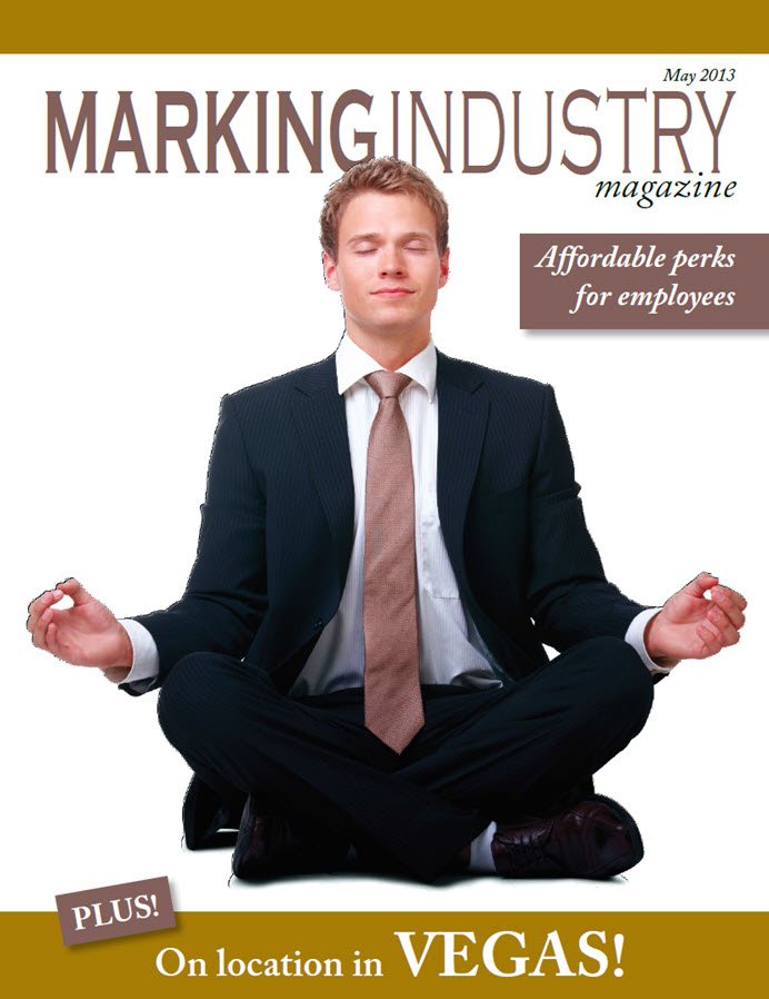 Marking Industry Magazine - May 2013
