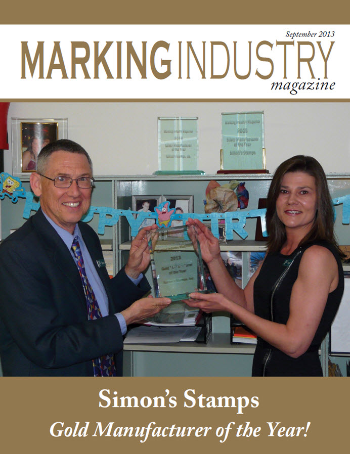 Marking Industry Magazine - September 2013