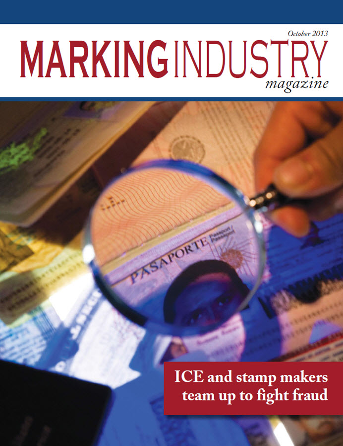 Marking Industry Magazine - October 2013