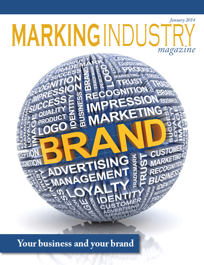 Marking Industry Magazine - January 2014