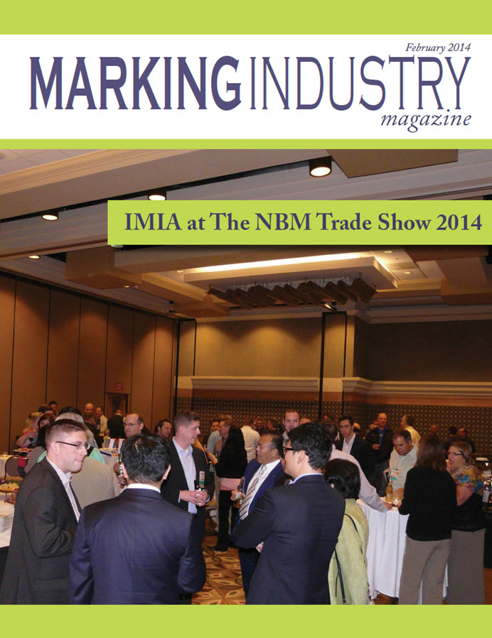 Marking Industry Magazine - February 2014