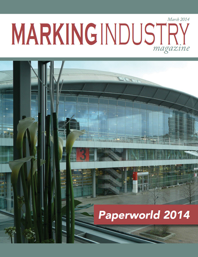 Marking Industry Magazine - March 2014