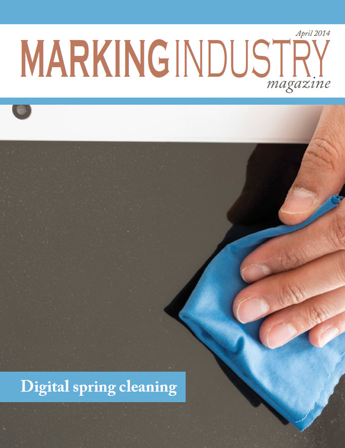 Marking Industry Magazine - April 2014