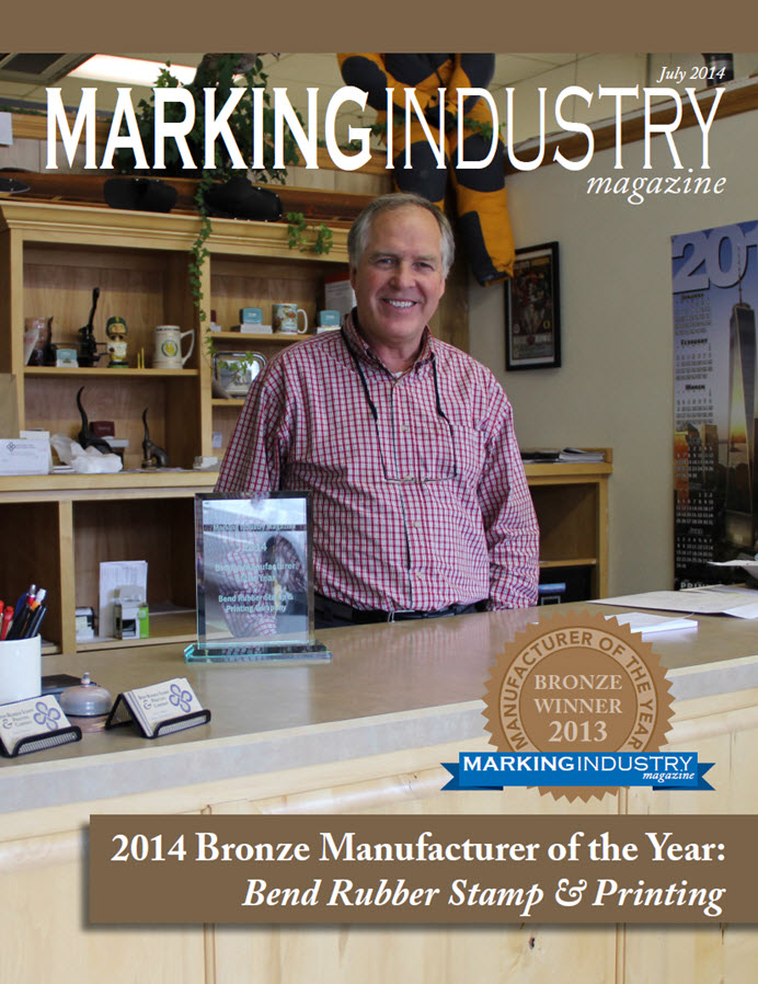 Marking Industry Magazine - July 2014
