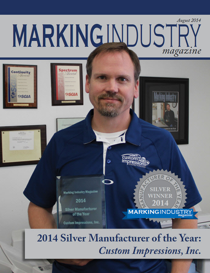 Marking Industry Magazine - August 2014