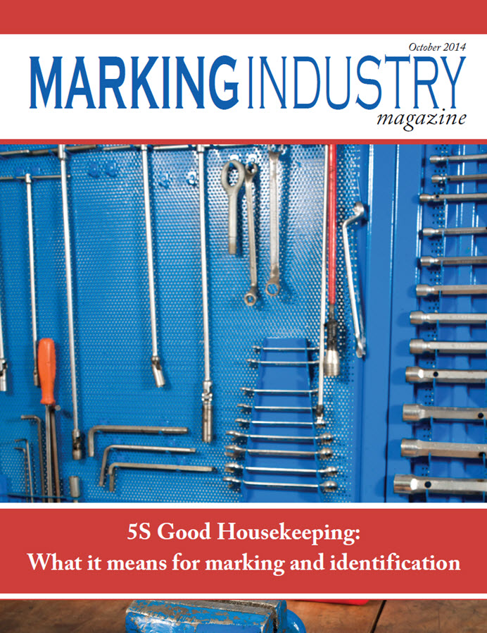 Marking Industry Magazine - October 2014