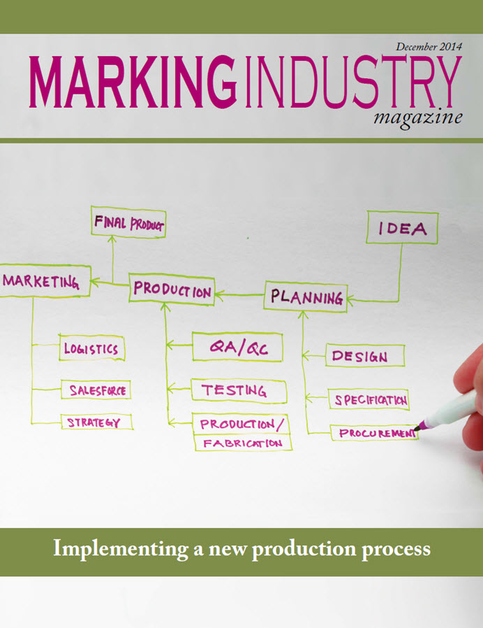 Marking Industry Magazine - December 2014