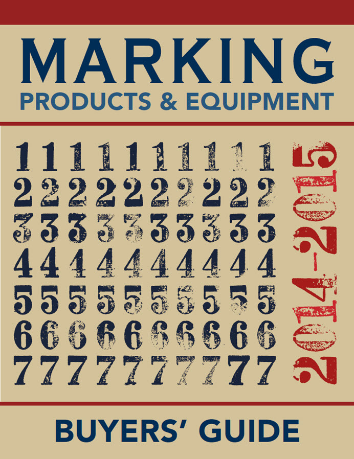 Marking Industry Magazine - Buyer's Guide 2014