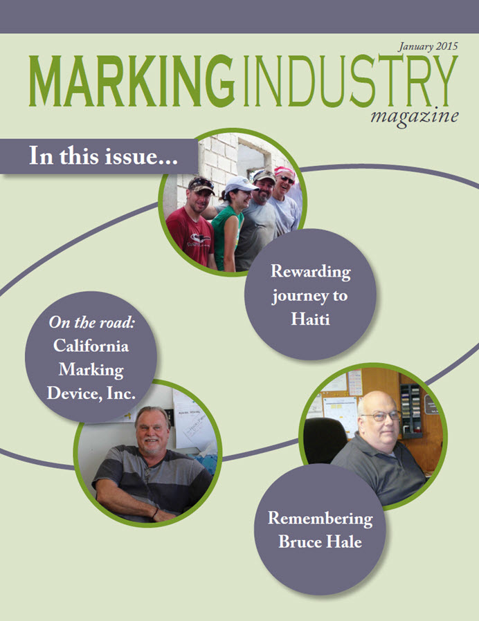 Marking Industry Magazine - January 2015