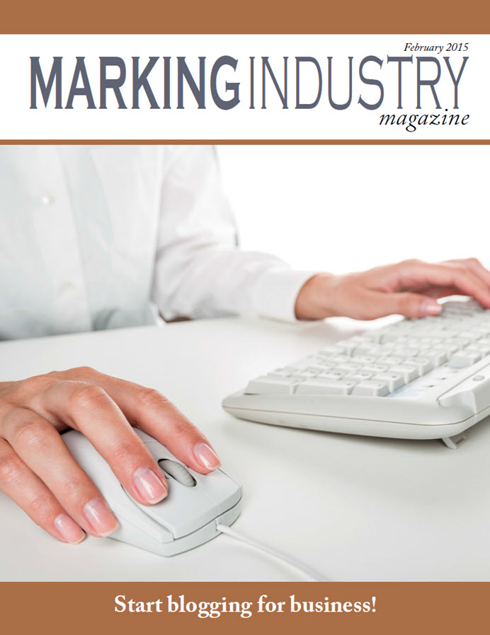 Marking Industry Magazine - February 2015