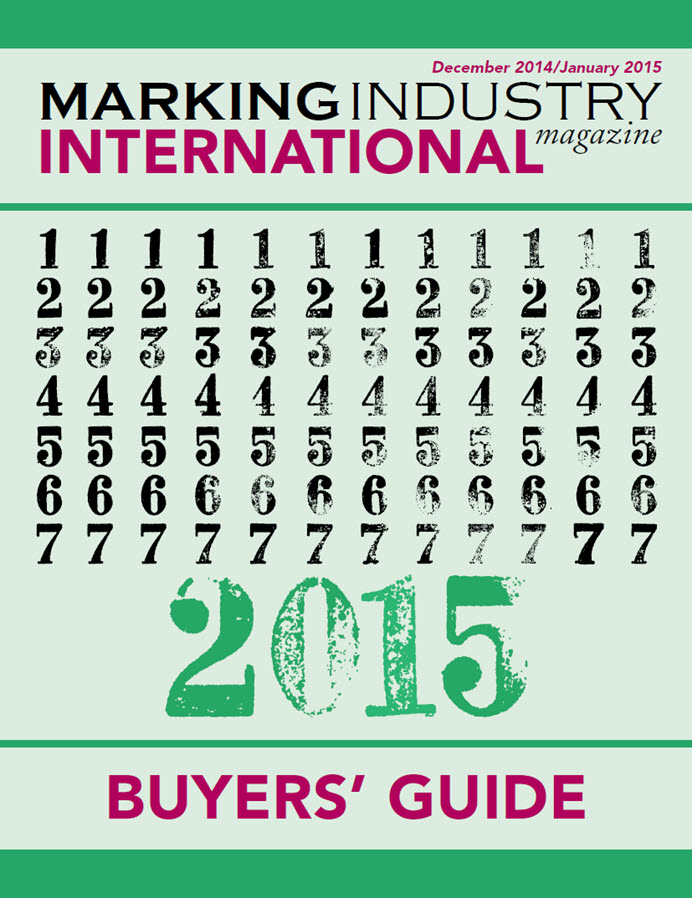 Marking Industry Magazine - Buyer's Guide 2015