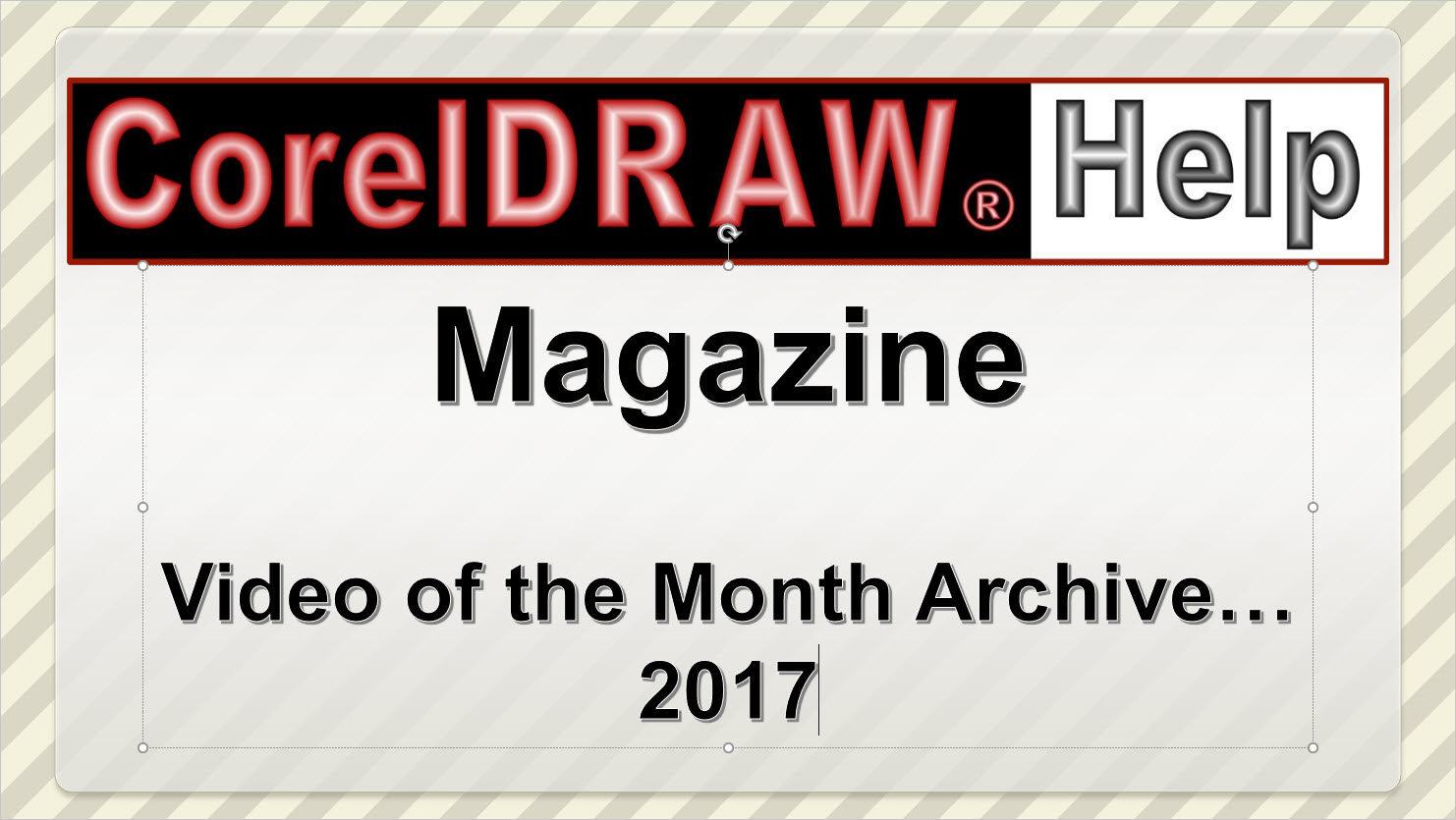 Video of the Month Archive 2017