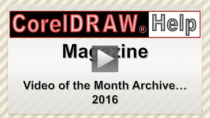 Video of the Month Archive 2016