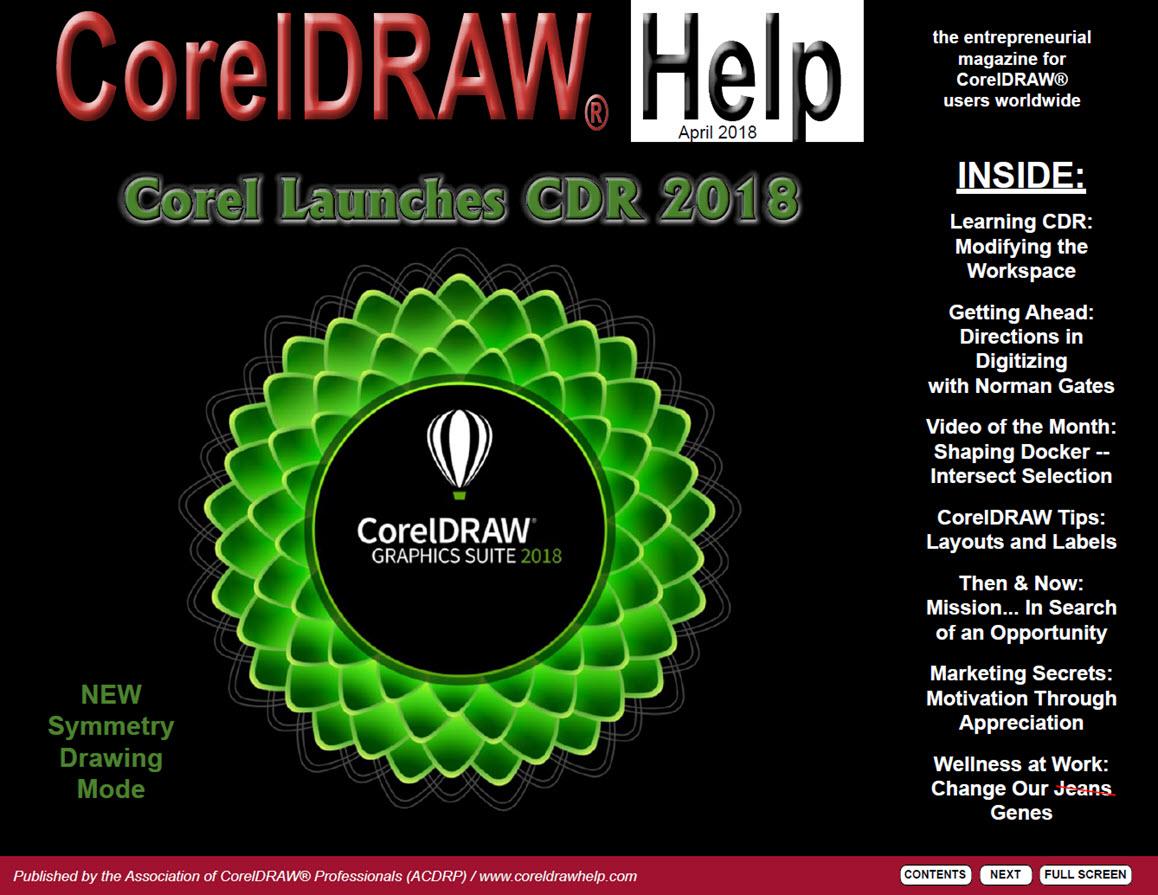CorelDRAW Help Magazine - April 2018