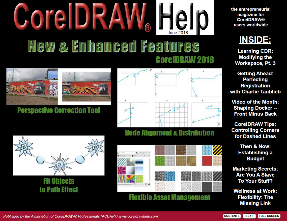 CorelDRAW Help Magazine - June 2018