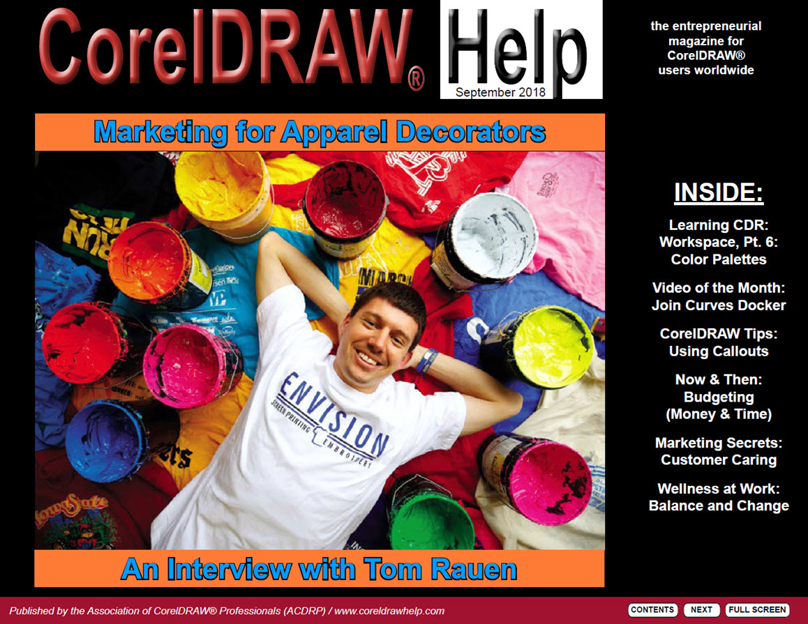 CorelDRAW Help Magazine - September 2018