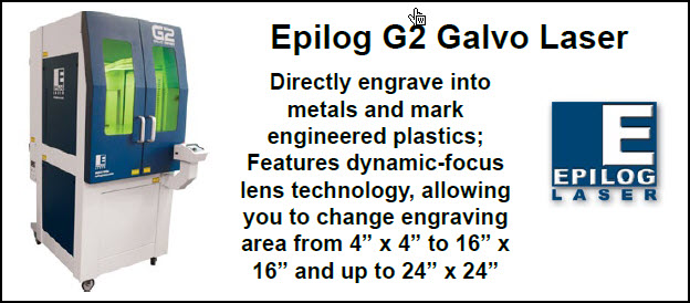 Epilog Laser - Manufacturer of Laser Engraving Equipment