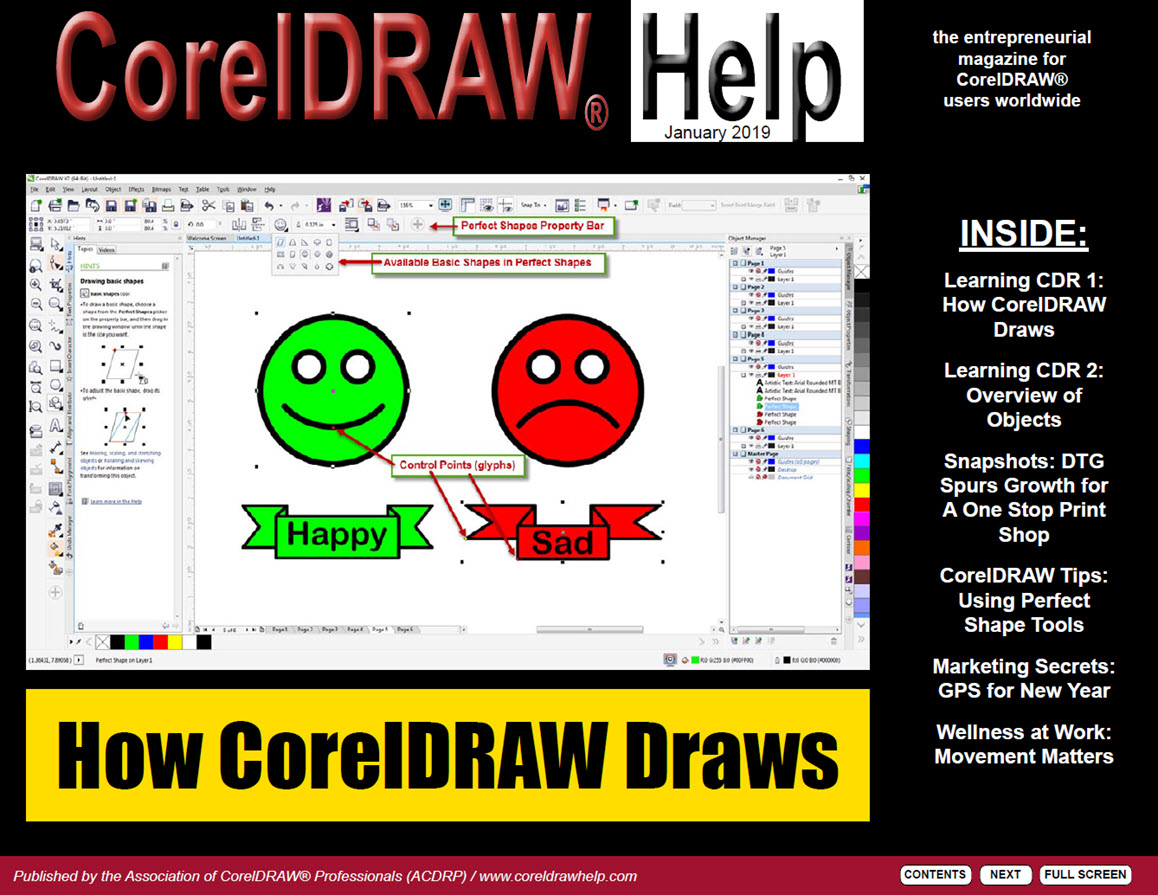 CorelDRAW Help Magazine - January 2019