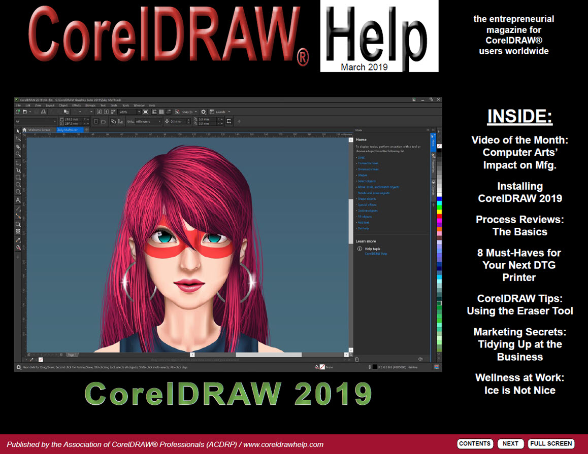 CorelDRAW Help Magazine - March 2019