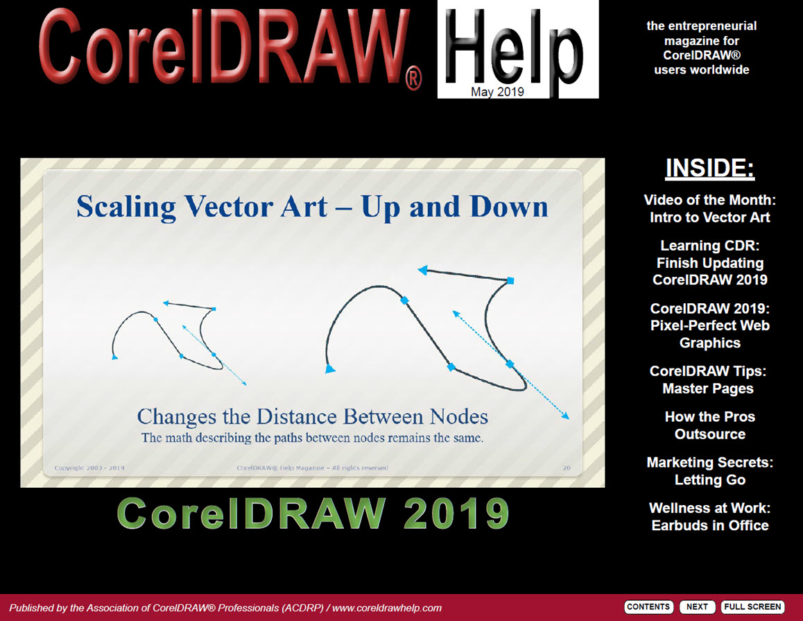 CorelDRAW Help Magazine - May 2019