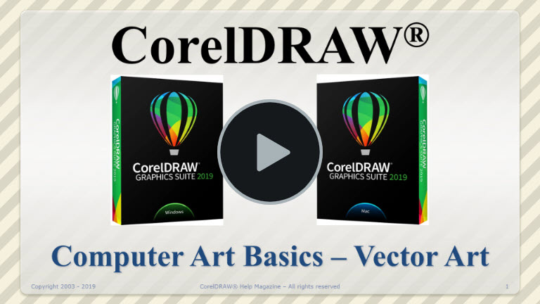Current Video of the Month | CorelDRAW Help