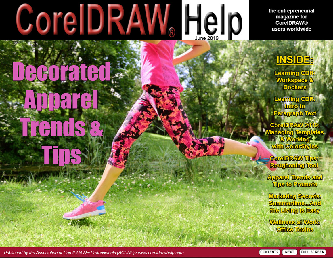 CorelDRAW Help Magazine - June 2019