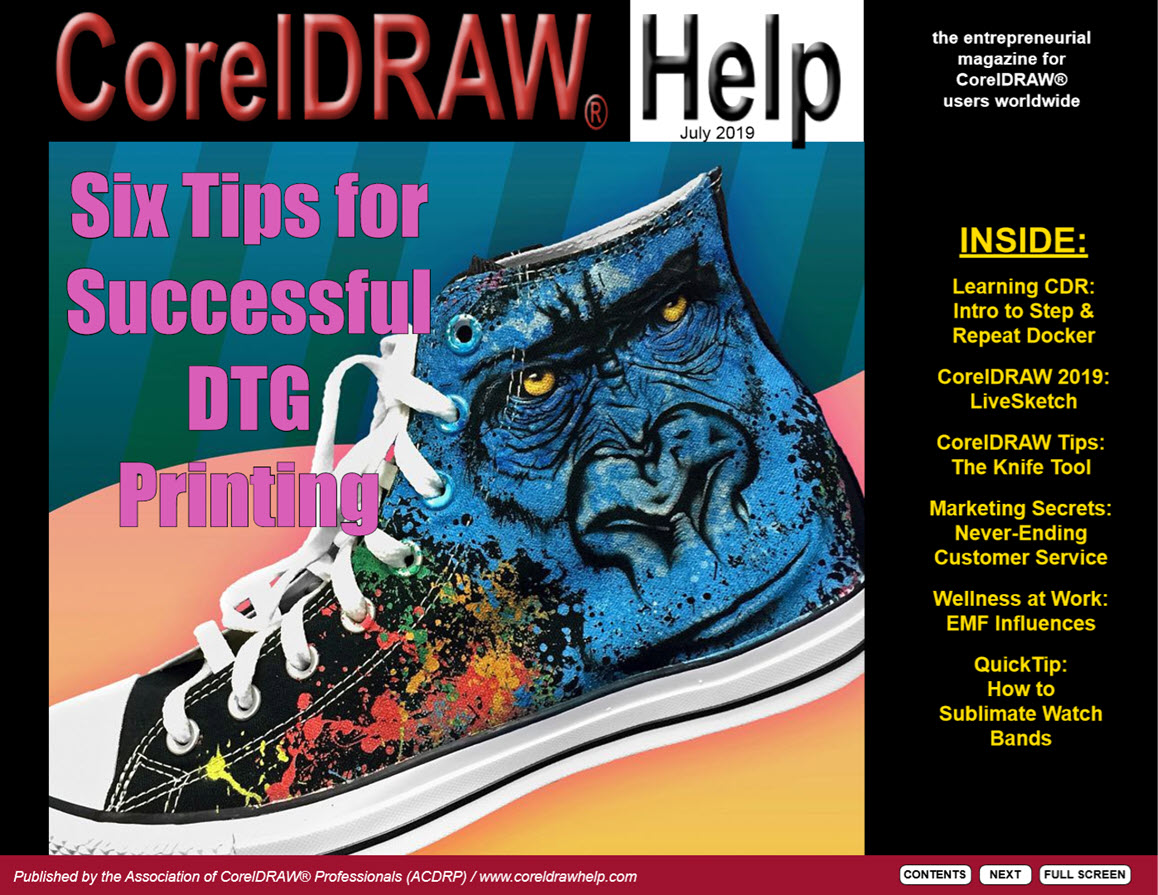 CorelDRAW Help Magazine - July 2019