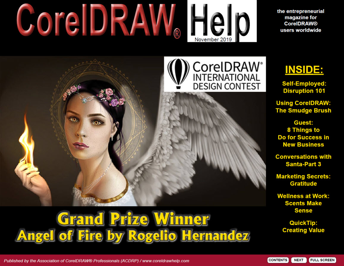 CorelDRAW Help Magazine November 2019