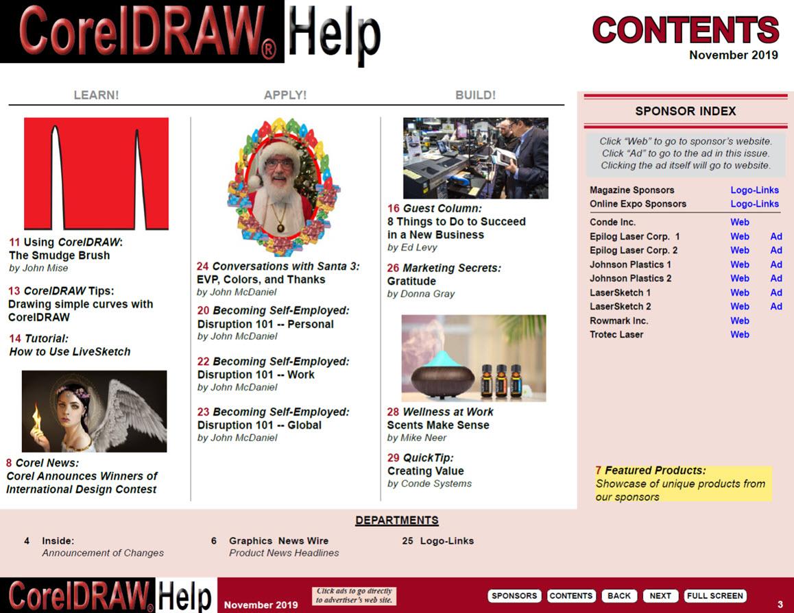 Download the Current CorelDRAW Help Magazine